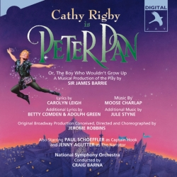 Peter Pan (Original Studio Cast Cathy Rigby), Cathy Rigby