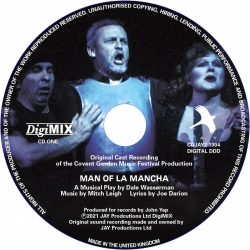 Man Of La Mancha DigiMIX disc only, First Complete Recording (DigiMIX remastered) collectors edition